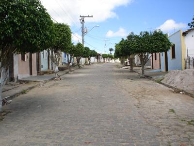 Antiga Rua Batucar, que hoje deve ter o nome de algum político