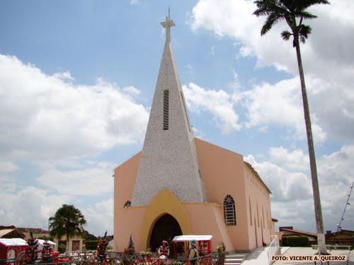 Igreja Matriz Nossa Senhora da Conceição. Foto Vicente A. Queiroz