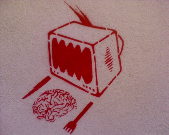 come cerebro televisão