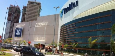 Shopping construído na Bacia do Pina, Recife