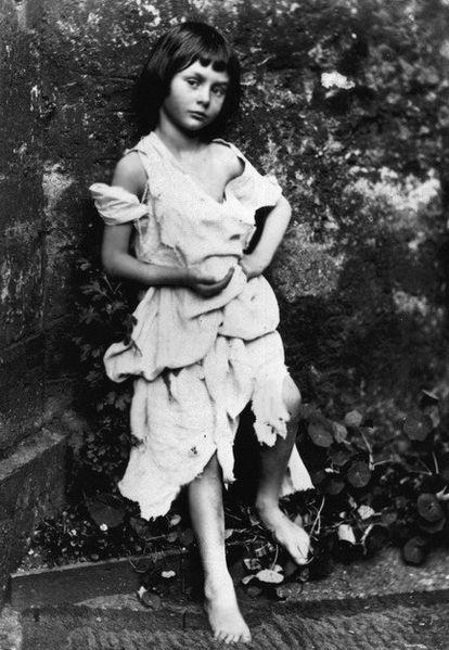 Alice Liddell, em 1858