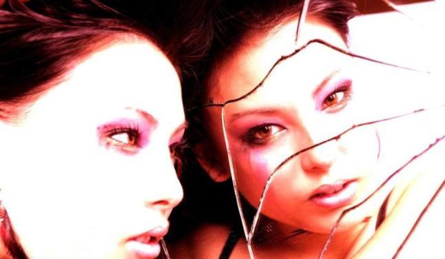 espelho partido