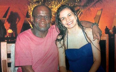 Joaquim Barbosa e a namorada