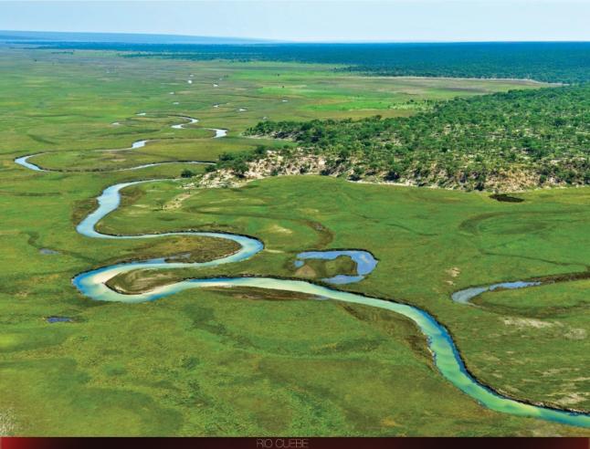 Cuando Cubango. Bacia do Okavango