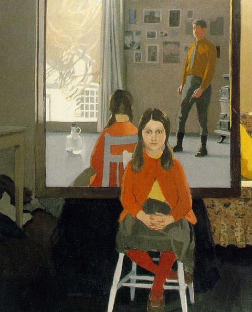 O espelho, por Fairfield Porter