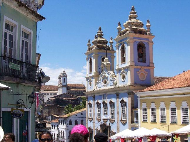 A Igreja do Rosário dos Pretos.