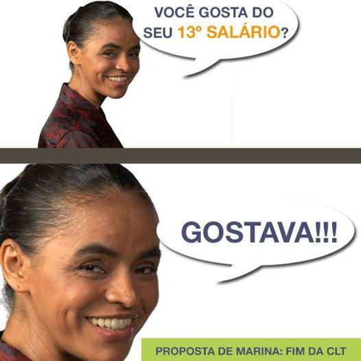 Marina CLT terceirização