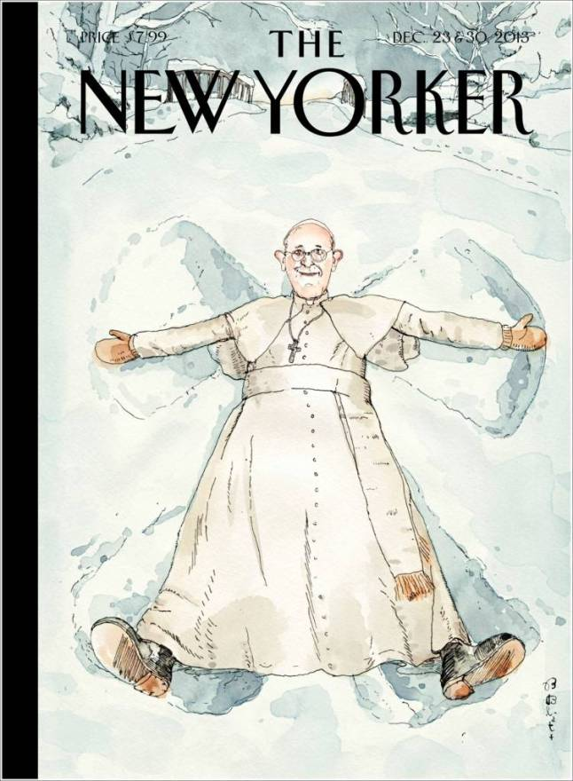 new_yorker. papa Francisco