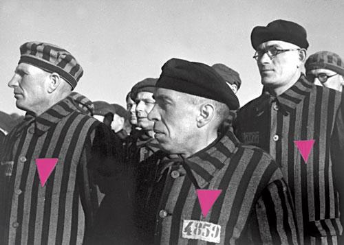homossexuais em campo de concentração nazista