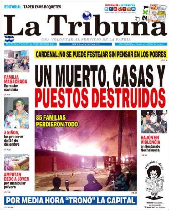 Edição de hoje. Lembra os constantes incêndios de São Paulo com mais de 2.