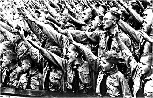 Saudacao-Nazista