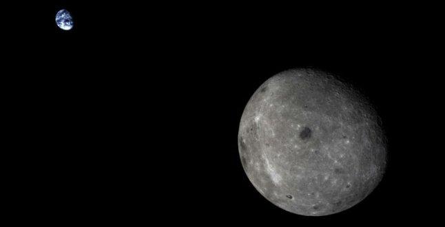 Esta imagen ha resaltado por ser una de las pocas que tiene a la Tierra y la Luna, juntas, en una sola imagen. Se trata de una captura enviada por Chang'e 5T1, una misión china lanzada el pasado 23 de octubre al espacio.