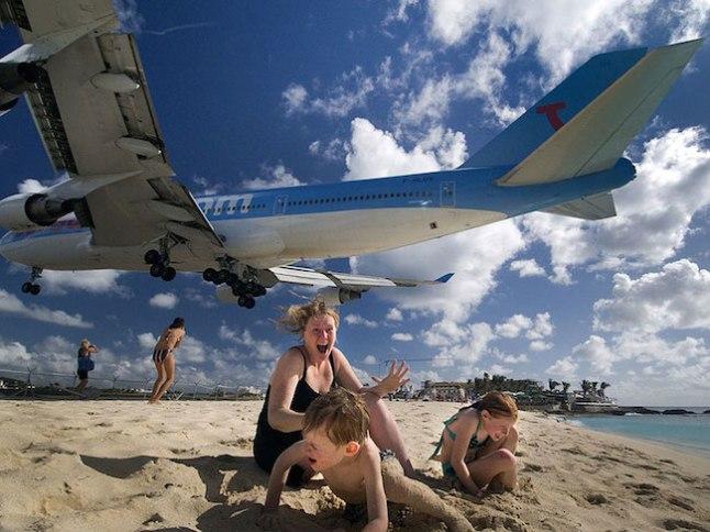 A cada avião, uma dose de adrenalina!