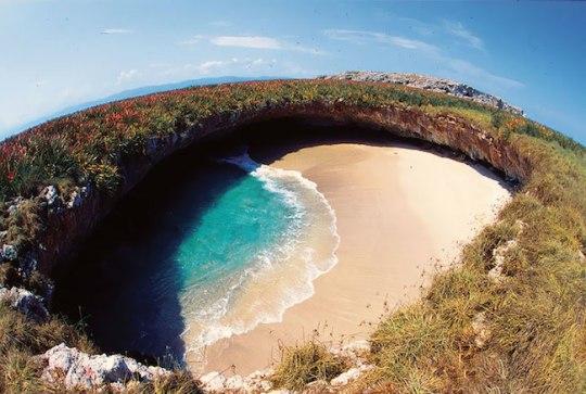 Praia escondida, méxico