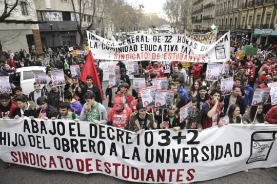 estudantes hoje espanha