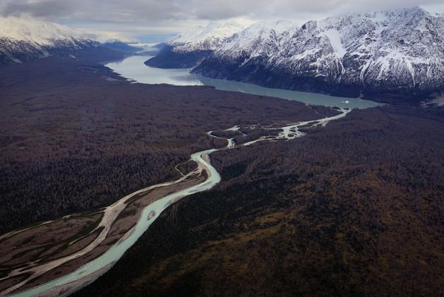 Parque Nacional Kluane, Canadá. Montañas y glaciares dominan el paisaje de este lugar