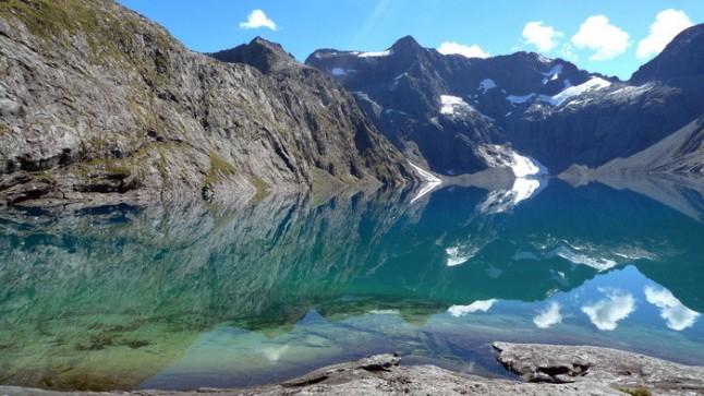 Te Wahipounamu, Nueva Zelanda. Este parque cuenta con los lagos más profundos del país.
