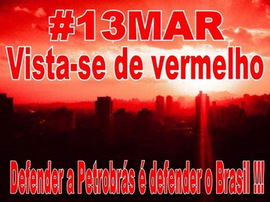 13 março petrobras brasil