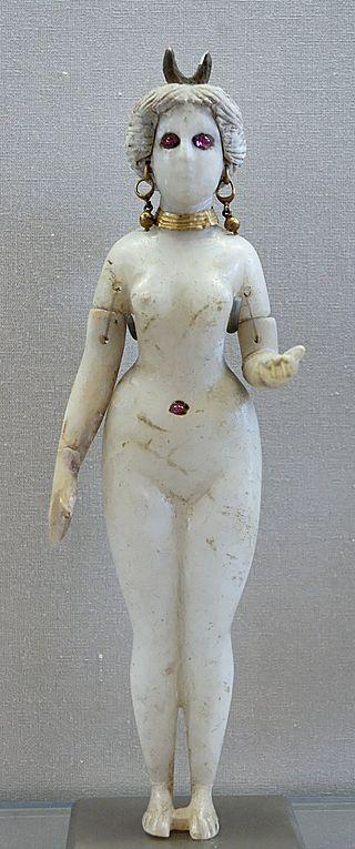 Deusa Ishtar, estatueta representativa do século IV a.C.