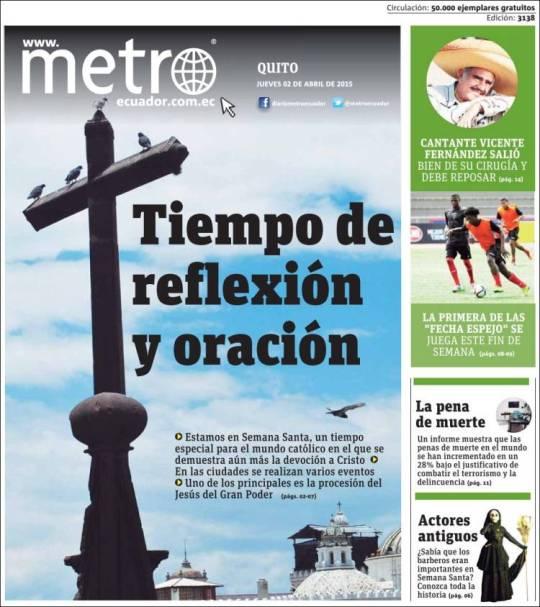 metro_quito. semana santa quito