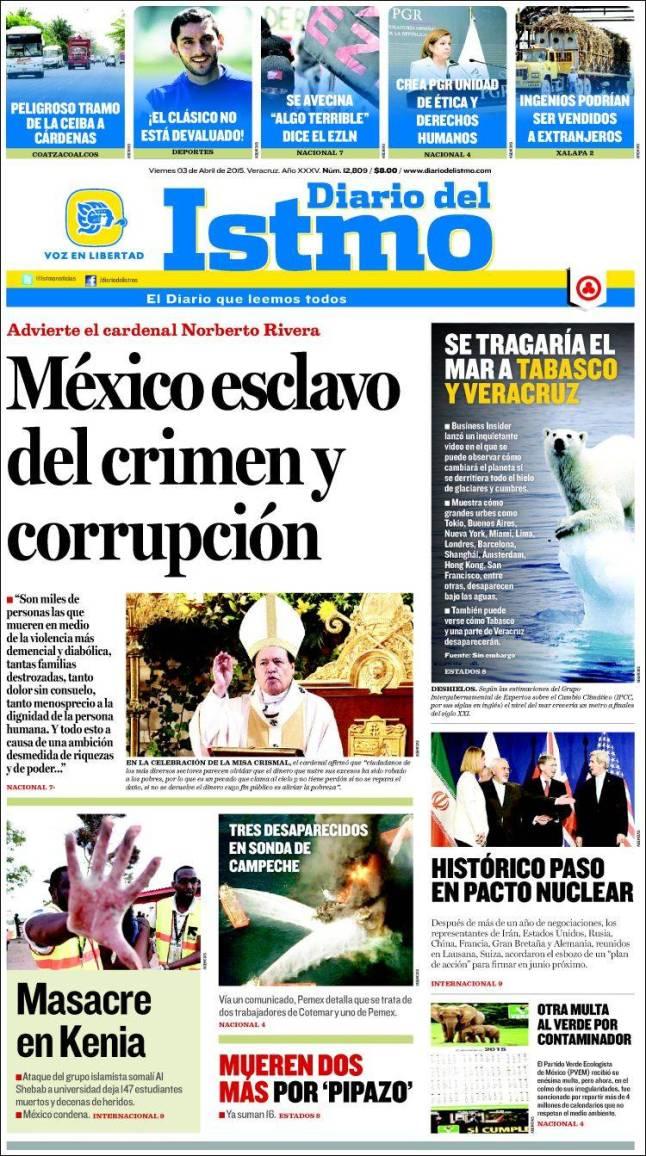 mx_diario_istmo. México corrupção