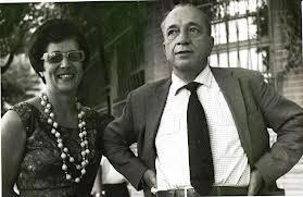 Lara de Lemos e Mario Quintana