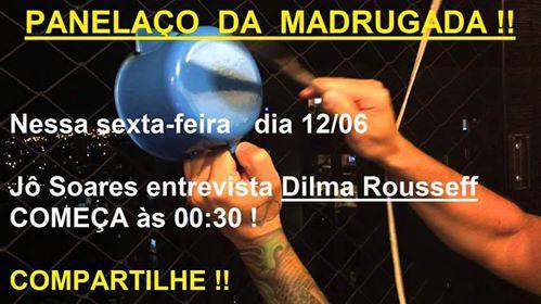 Convite divulgado pelo porta=voz da extrema-direita O lavo Carvalho