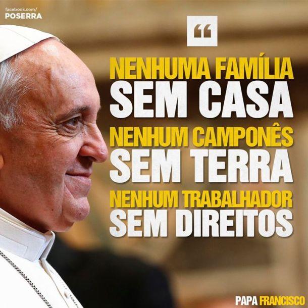 Image result for papa francisco teto trabalho