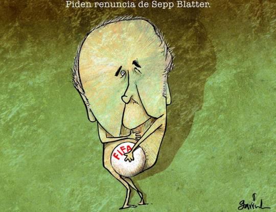 Joseph Blatter, por Garrrincha