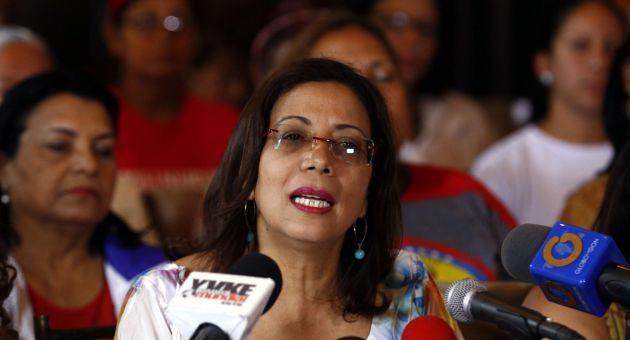 """""""Hay una mala intención para chantajerar y entorpecer la acción de la justicia, además para torpedear las buenas relaciones entre Venezuela y Brasil"""", declaró Tania Díaz"""