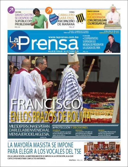 bo_prensa. Bolívia