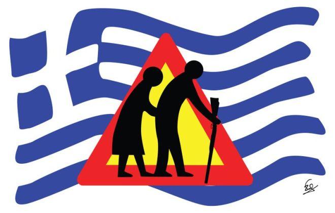 crise grécia suicidio idoso