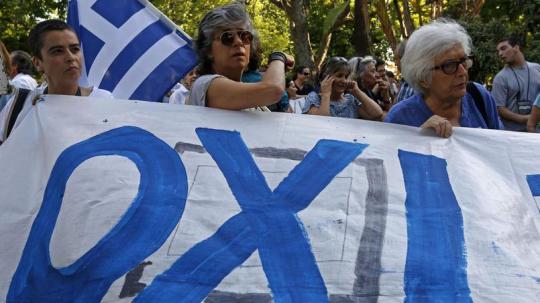 OXI referendo grécia
