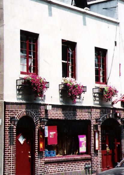 The Stonewall Inn, (cerca de 2005), na Christopher Street, em Manhattan, Nova Iorque.