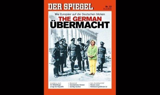 A superioridade alemã. Como veem os europeus aos alemaes