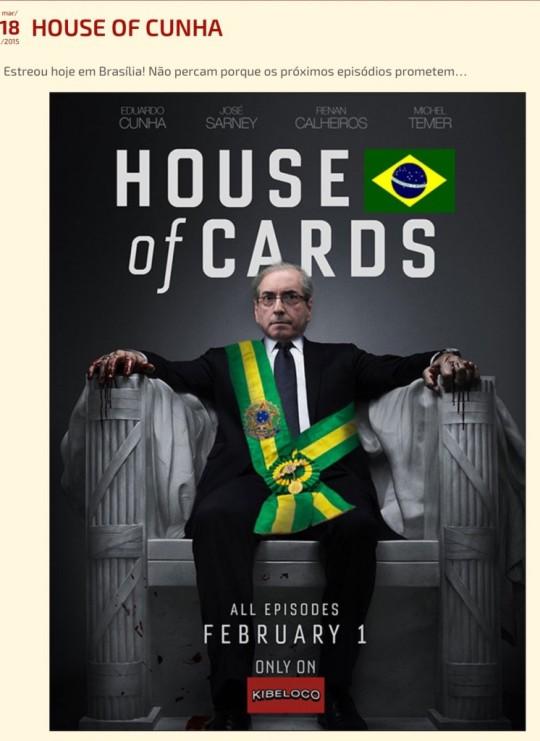 House of Cunha pelo Blog de Simão