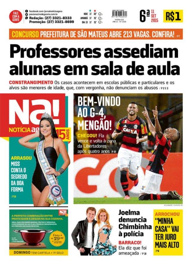 BRA jornal notícia agora assédio professor estudante