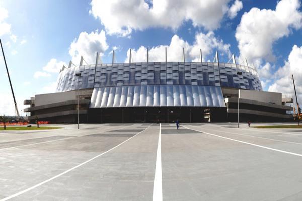 Arena do Coliseu de Pernambuco. Foto de Eduardo Matino