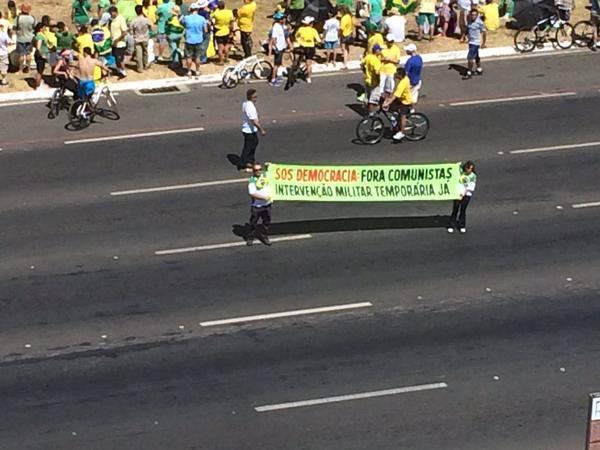 ditadura golpe protesto