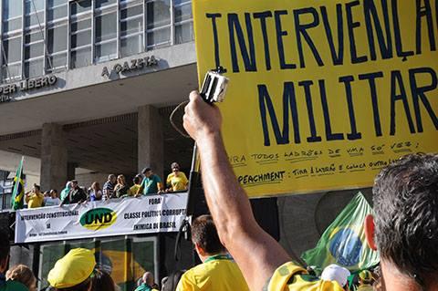 golpe militar volta ditadura