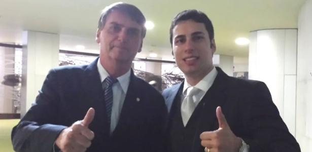 Jair Bolsonaro foi garoto propaganda da campanha derrotada de Matheus Sathler a deputado federal