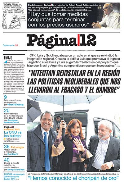 lula Cristina Argentina política