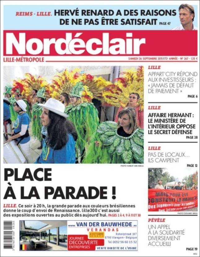 nordeclair. parade
