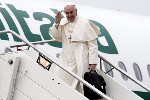papa escada avião cuba