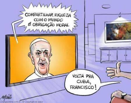 papa_francisco27_cuba_charge Mário