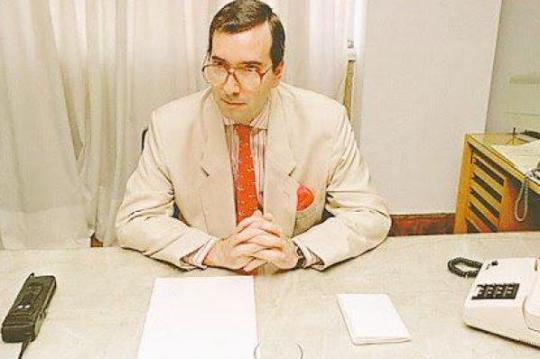 Retrato do artista quando jovem: na presidência da Telerj