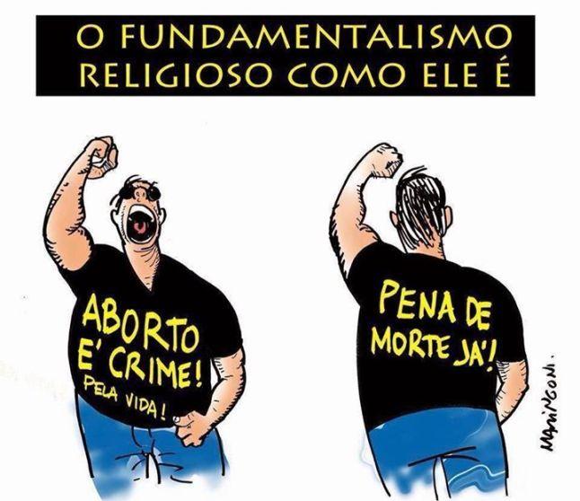 fanatismo religioso pena morte aborto